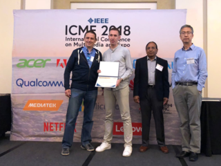 IEEE ICME 2018 Grand Challenge 1st Prize on 25 July 2018